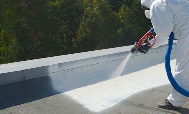 гидроизоляция при помощи полимочевины