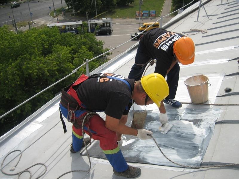 ремонт скатной крыши многоквартирного дома